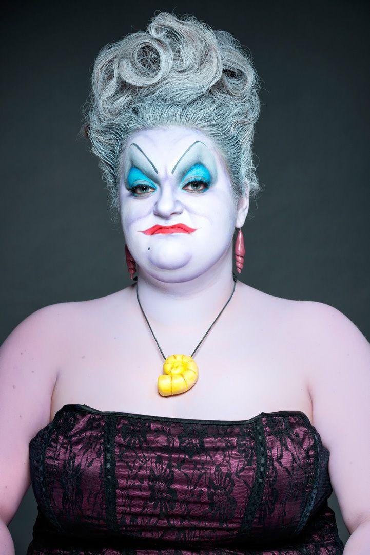Ursula Disney make up