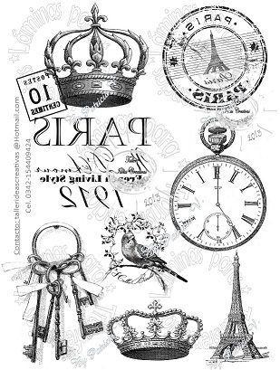laminas vintage blanco y negro - Buscar con Google