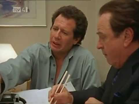 the larry sanders show - david duchovny goes Basic Instinct on Larry :) too funny
