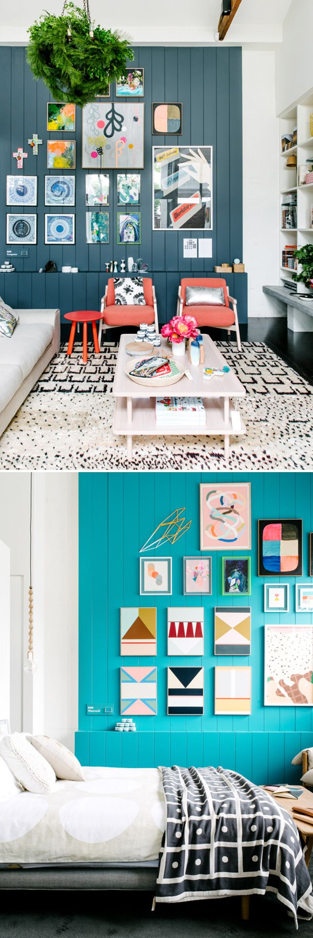 Swooning over these salon walls.