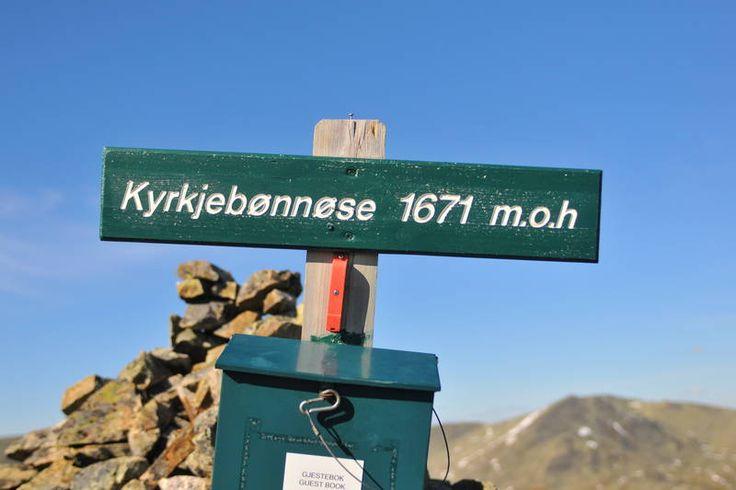 Kyrkjebønnøse 760 - 1671 moh - Tur - UT.no