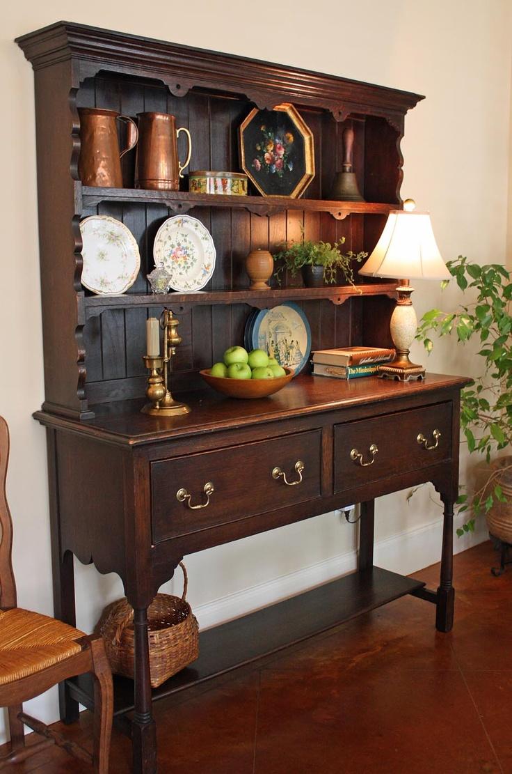 Welsh Dresser Decorating