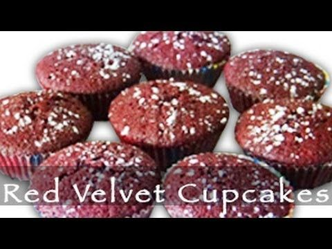 Red Velvet Cupcakes are popular cupcakes with a dark red, bright red or red-brown color.  increasingly popular and can usually be found in most cupcake bakeries. These are the perfect red velvet cupcakes recipe -- moist, the taste, texture and color of these cupcakes is amazing.  Share and Recommend this yummy recipe.