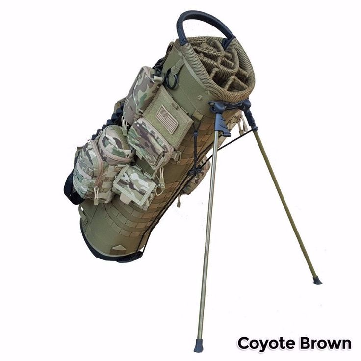 BAMF Golf Bag: Expeditionary-Tactical-Retirement-Military-Police-Gift-Carry-Stand-Cart-Ping-Titleist-Golf Bag - 1