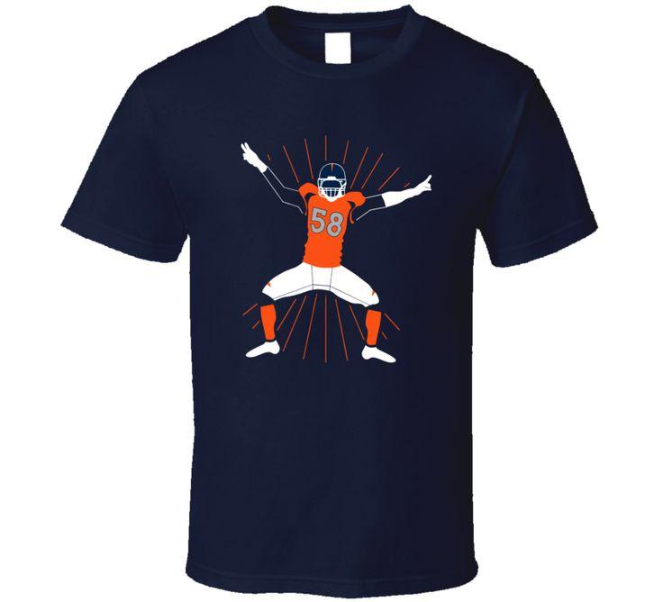 Von Miller Sack Dance Denver Football T Shirt