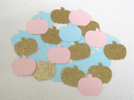 Little Pumkin Gender Reveal/ Little Pumpkin Confetti/ Little Pumpkin Twins/ Little Pumpkin Decorations/ Little Pumpkin Baby Shower/