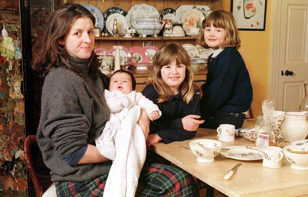 Emma Bridgewater and her three little girls! Interesting article attached.