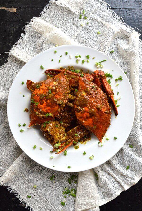 Curry Crab Receita