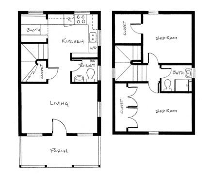 Tumbleweed tiny house floor plans with stairs home for Tumbleweed floor plans