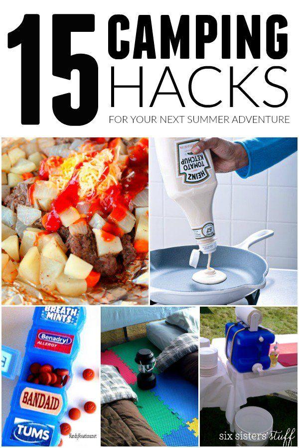 15 Summer Gel Nails: 15 Creative Camping Hacks To Use This Summer