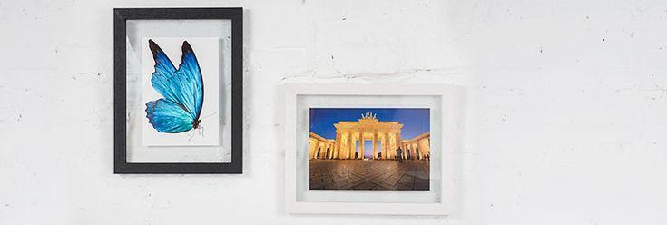 Duplexo Doppelglas-Bilderrahmen | AllesRahmen.de