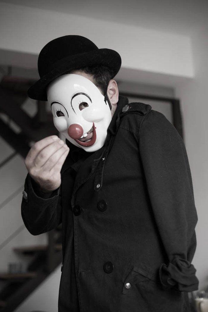 @Diego Herrera  Coulrofobia, payasos aterradores #Jalouin