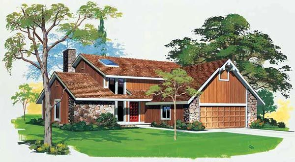 19 best house plan images on pinterest house floor plans for Contemporary house plans with lots of windows