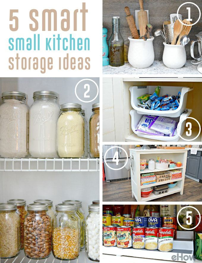 5 Smart Small Kitchen Storage Ideas Storage Ideas Cas