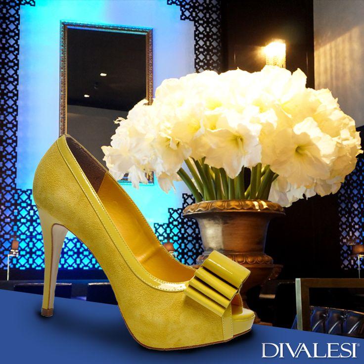 Hey, Diva! Que tal compor um look superalegre com um Divalesi da cor do sol? #VáDeDivalesi http://bit.ly/divalesi