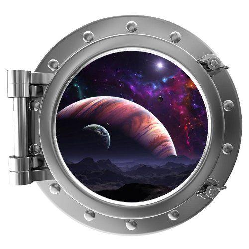 12 Quot Portscape Instant Space Porthole Window Jupiter