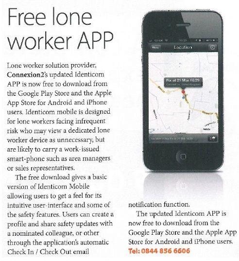 Free Lone Worker App