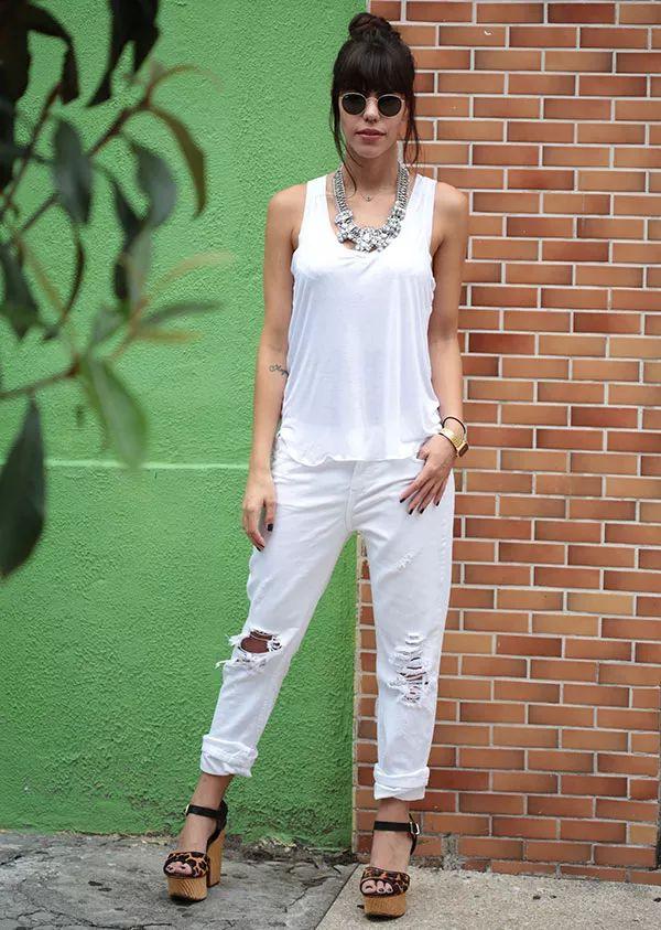 catha stl look total white