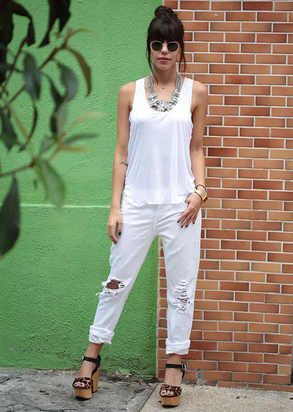 catha stl look total white: