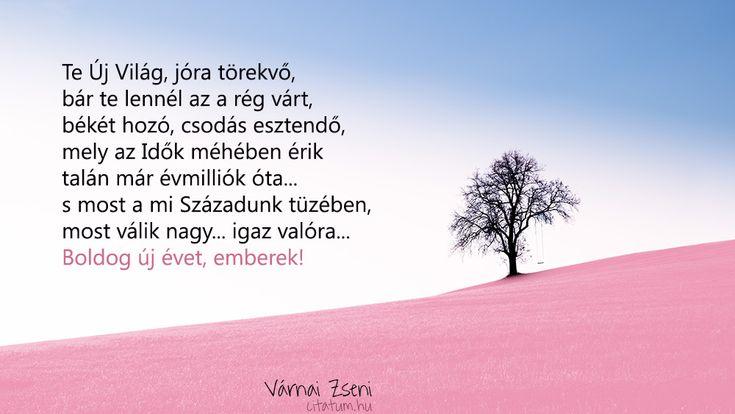 Várnai Zseni #idézet #szilveszter