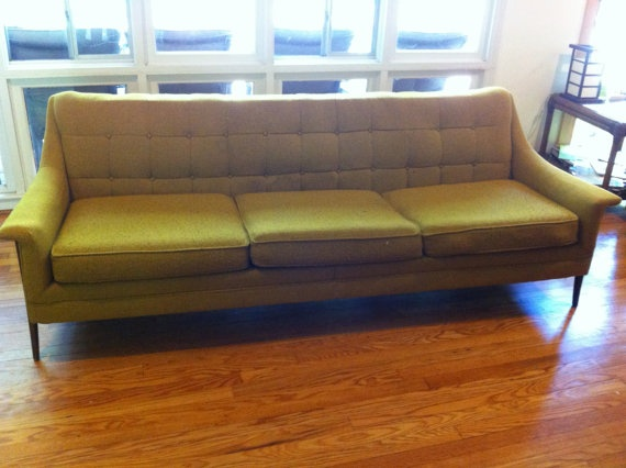 Superieur Vintage Danish Modern Long Floating Sofa By DUX By Contentshome, $950.00