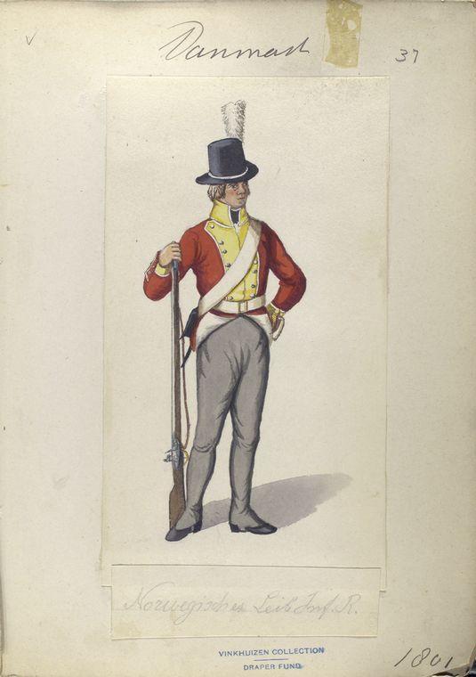 Denmark; Infantry Regt (Leib?) 1801