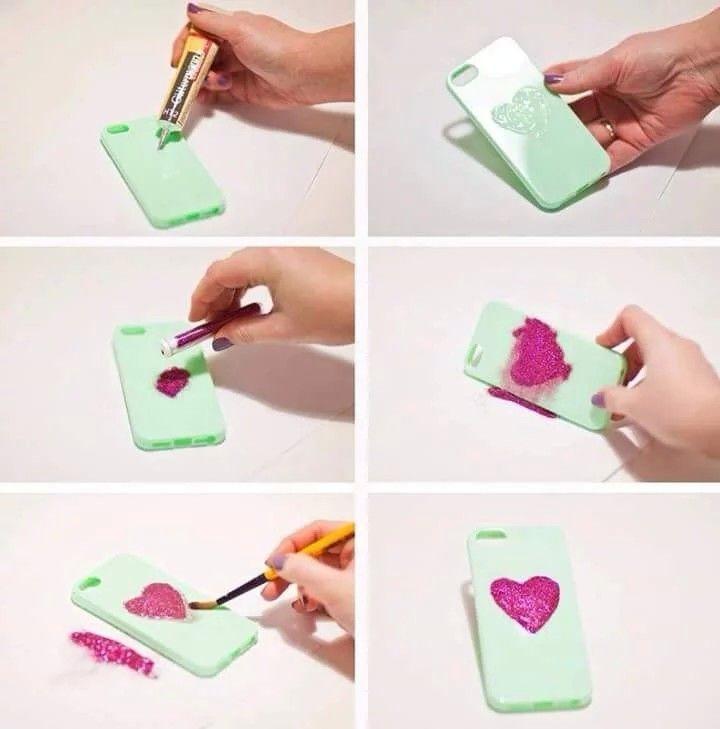 Make ur own designs on ur phone case