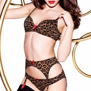 I just added this to my closet on Poshmark: Agent Provocateur Gorgeous Lingerie Set Leopard !!. Price: $100 Size: 34B