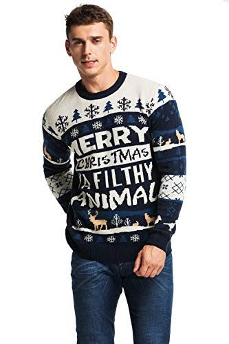 bd9b19306e1 Unisex Men s Ugly Christmas Sweater