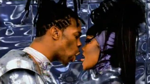 """Janet Jackson feat. Busta Rhymes """"What's It Gonna Be?"""": I used to constantly watch this video on The Box and every other music video channel that played it. I remember seeing Battle of the Bands performances to this song. This made it to my """"Top 10 R & B videos"""" (Page 1 http://www.weebly.com/uploads/4/0/9/2/409296/r_and_b_video_pg_1.jpg Page 2 http://www.weebly.com/uploads/4/0/9/2/409296/r_and_b_video_pg_2.jpg Page 3 http://www.weebly.com/uploads/4/0/9/2/409296/r_and_b_video_pg_3.jpg )"""