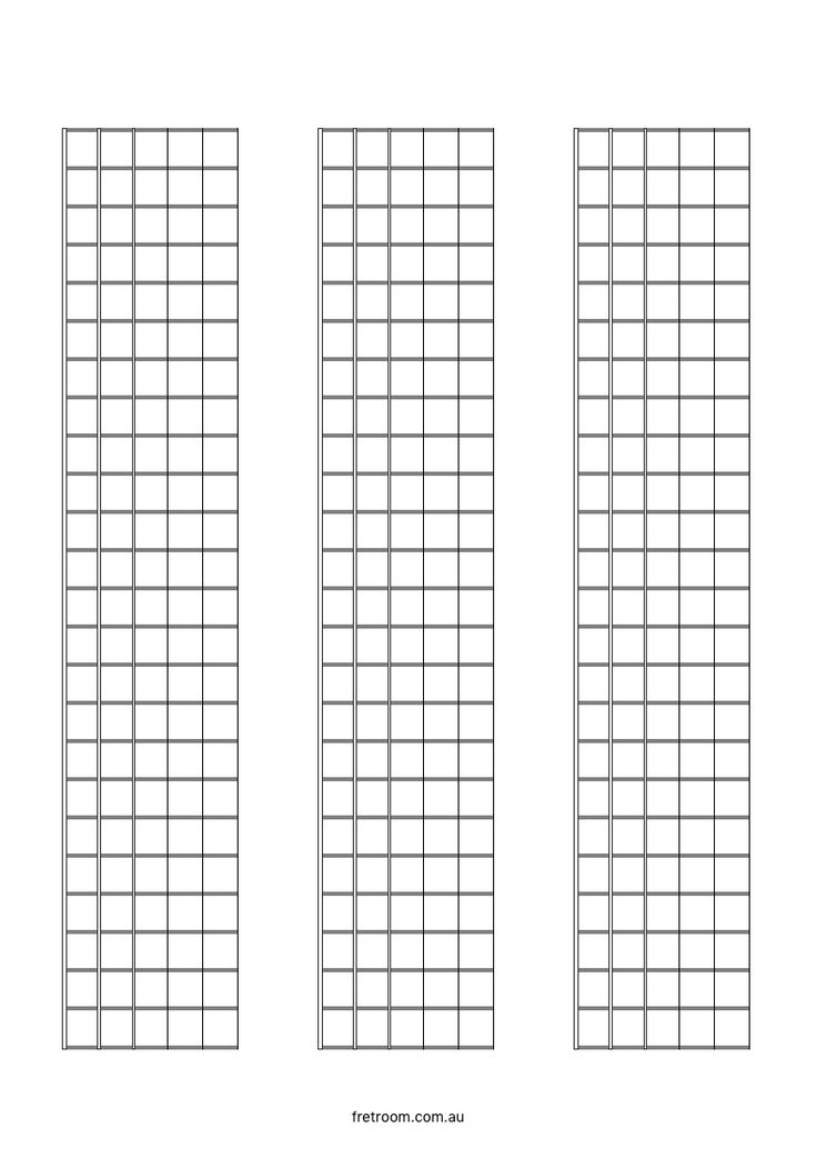 Best Blank Templates Images On   Guitar Chords