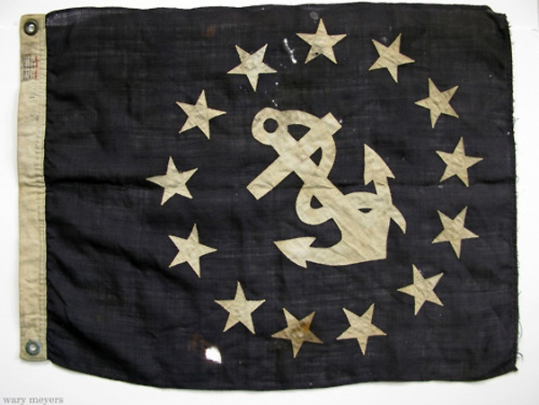 Vintage Rhode Island Flag
