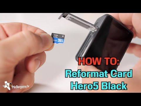 This video will show you how to erase / reformat the memory card on GoPro Hero5 Black camera. Check out my store http://micbergsma.tv for awesome GoPro …  source    ...Read More