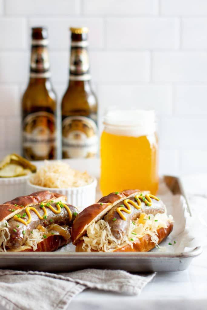 Oktoberfest Beer Braised Brats Foodbyjonister Recipe Oktoberfest Food Recipes Braised