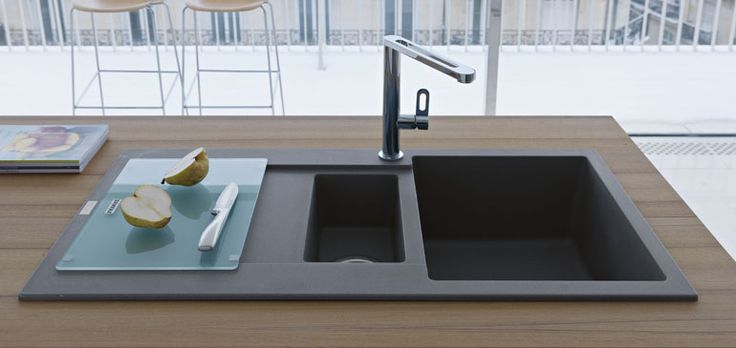 Have you considered using Fragranite as the material for your kitchen sink? Fragranite contains around 80% granite particles which give it its enormous strength and resilience  that will last a lifetime of normal usage.