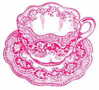 Tea cup printables- but I think it would make an adorable tattoo!