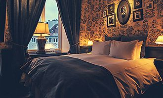 Hotel Pigalle is not in Paris but in Sweden! A new boutique hotel that plays on the glamour of the Paris belle epoque life.
