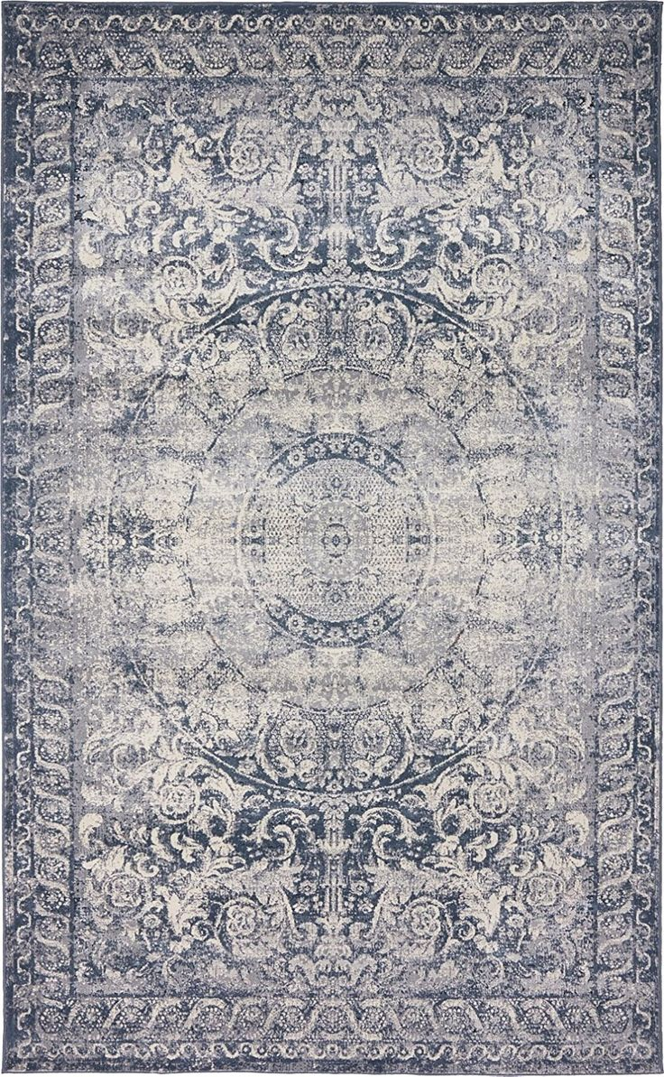 147 best sourced underfoot images on pinterest area rugs amazon com texture modern carved vintage traditional look feel dark blue 5