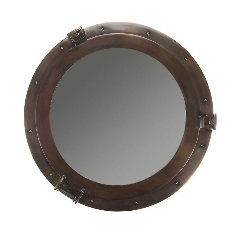 Authentic Models Porthole Lounge Mirror
