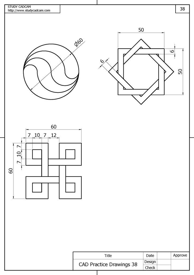 394 best images about autocad design on pinterest block for Cad blueprints