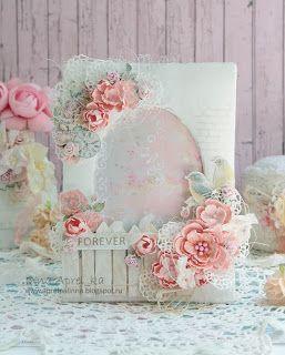 Челлендж-блог Anna'Scrap: МК: нежная цветочная фото-рамка.