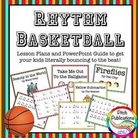 Great blog for music class ideas, plus rhythm BB game lesson plans