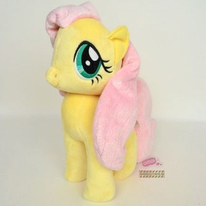 My Little Pony Ystävyyden Taikaa: Fluttershy pehmolelu (30cm)