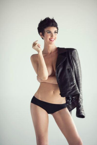 Paz Vega beautiful nude model poses at Esquire Mexico ...