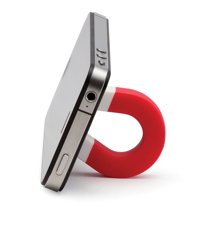 Cool Christmas gift idea - Magnet phone stand - at WayOutfitters.com