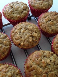Sistermixin' Banana and Oat Muffins