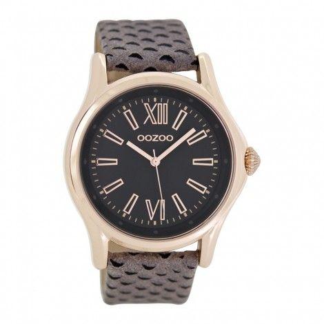 OOZOO Timepieces horloge Grijs C7194 - Horloges
