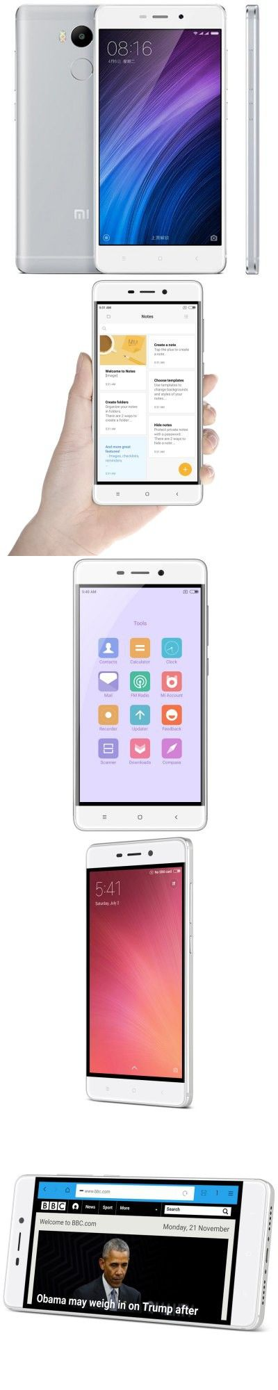Xiaomi Redmi 4 4G Smartphone INTERNATIONAL VERSION + HK WAREHOUSE-167.66
