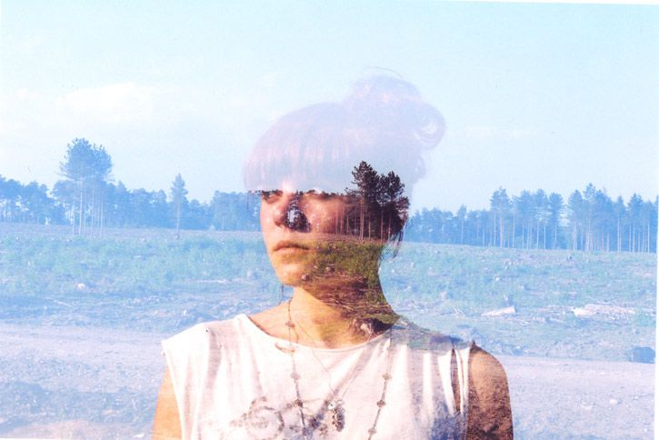 """Double Exposure"" #11 __ Photography: Oliver Morris __ #inspiration #creativity #concept #art #art_direction #digital #photography #digital_photography #oliver_morris #portrait #people #exposure #double_exposure #smashingpicture"