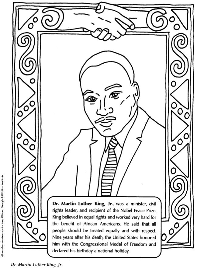 Coloring sheet for black history month mccoy black for Black history printable coloring pages